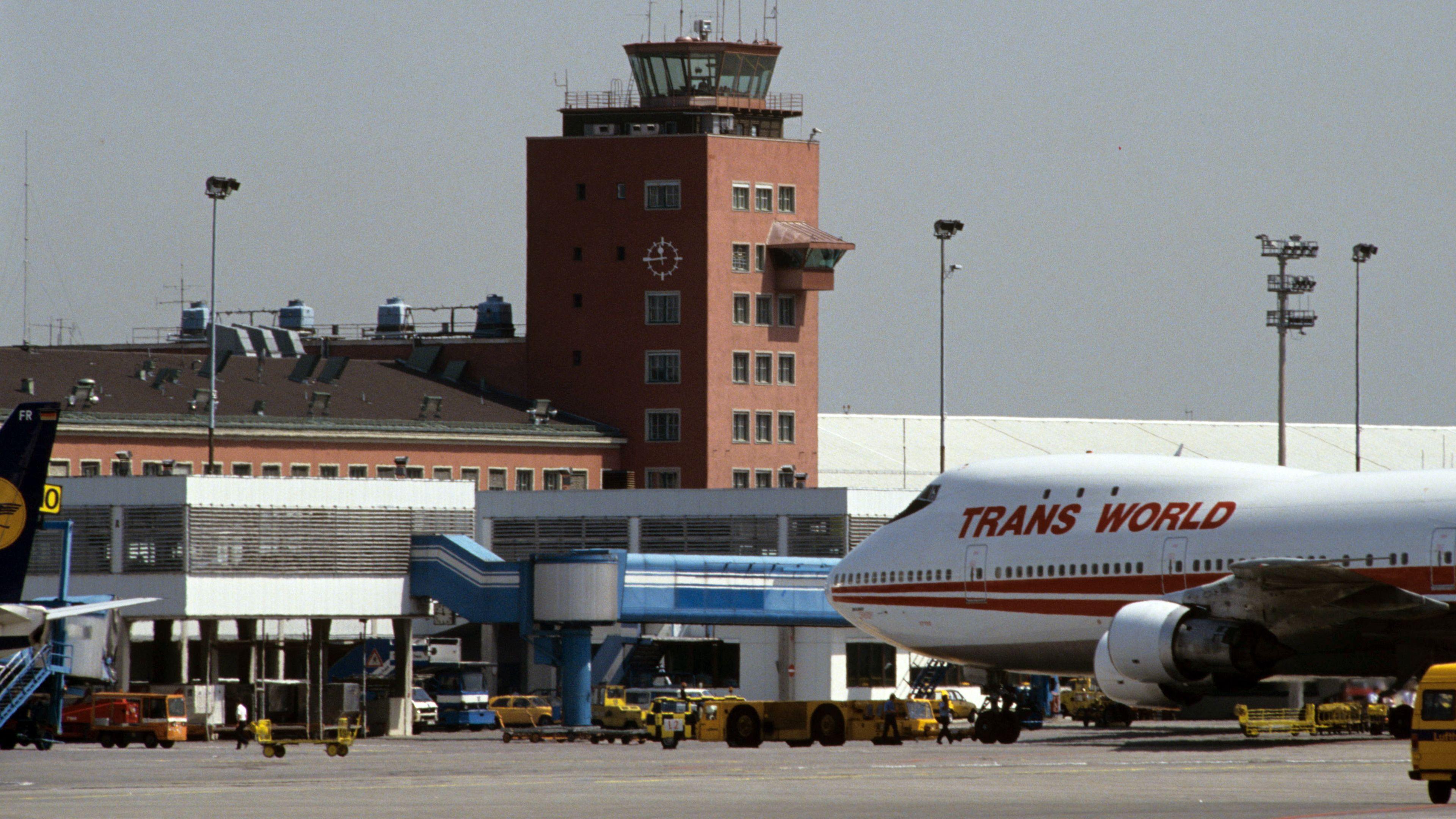 Der Flughafen München-Riem 1989