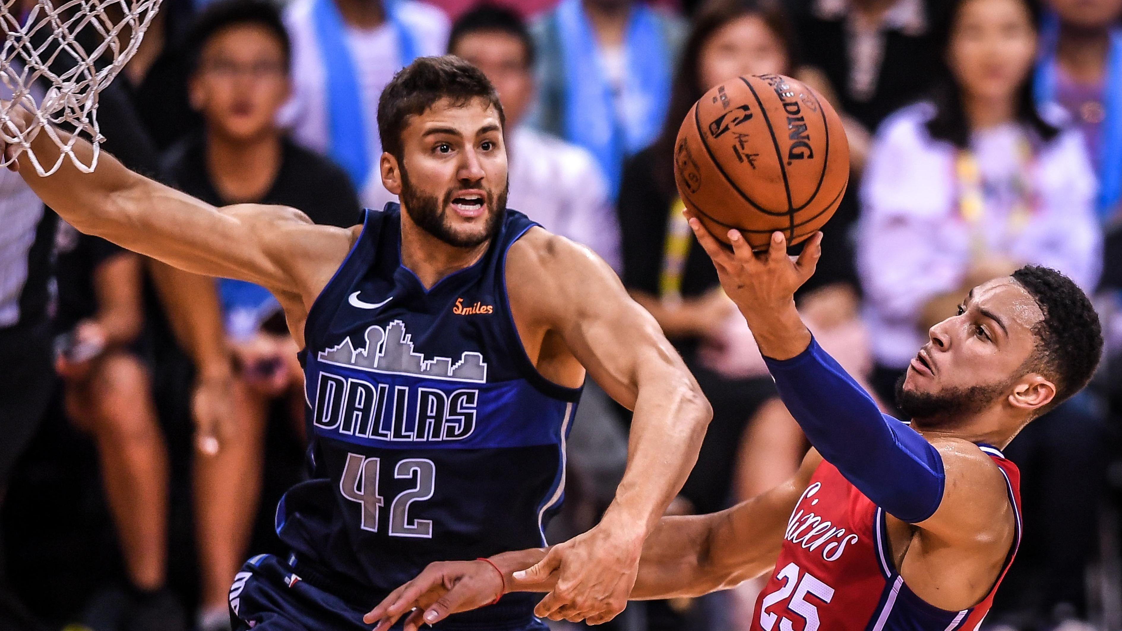 Maxi Kleber im Oktober 2018 im Spiel gegen die Philadelphia 76ers.