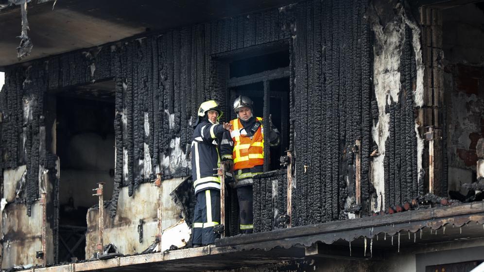 Courchevel: Tote und Verletzte bei Brand | Bild:picture alliance/Sylvain Muscio/MAXPPP/dpa