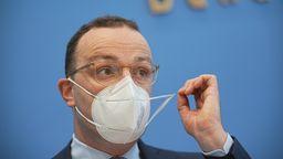 """Bundesgesundheitsminister Jens Spahn hat sich für ein Auslaufen der sogenannten """"epidemischen Lage nationaler Tragweite"""" ausgesprochen.   Bild:dpa-Bildfunk/Michael Kappeler"""