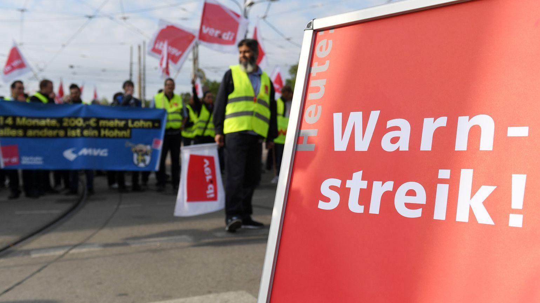 MVG-Fahrer streiken für mehr Lohn.