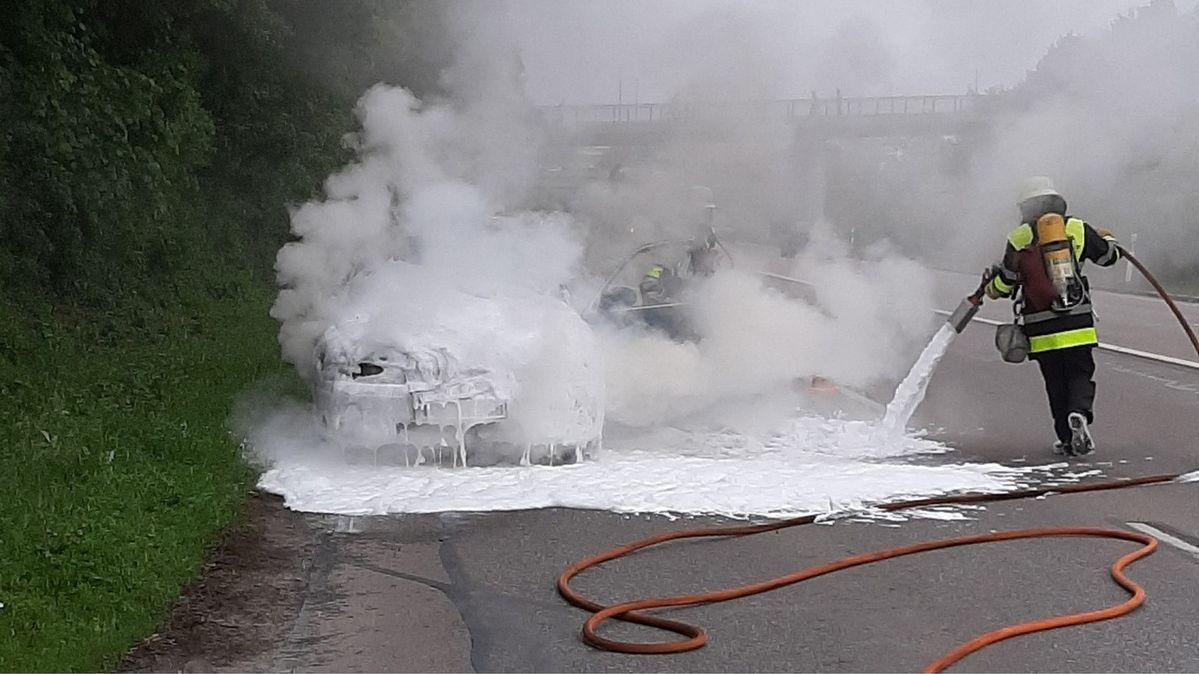 Feuerwehreinsatz in München-Neuperlach