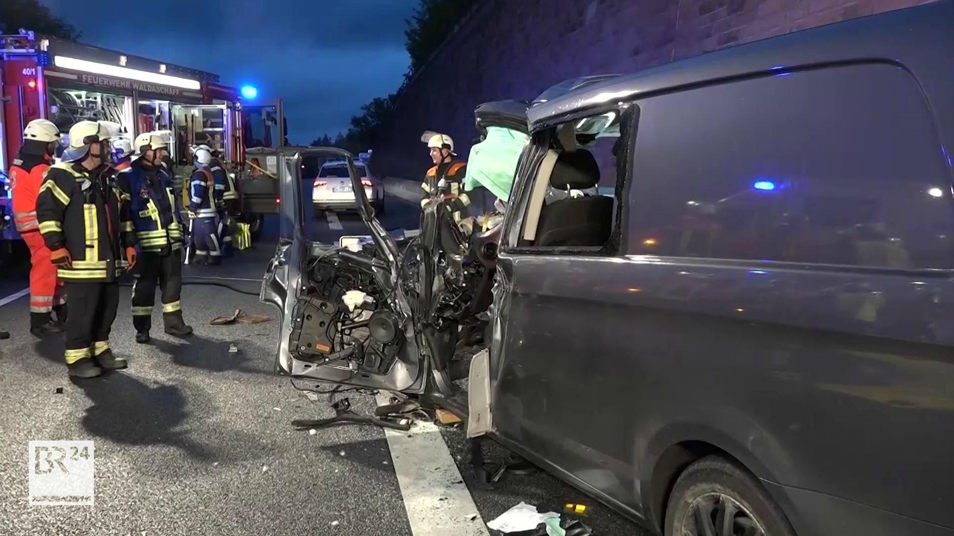 Unfall auf der A3 bei Bessenbach