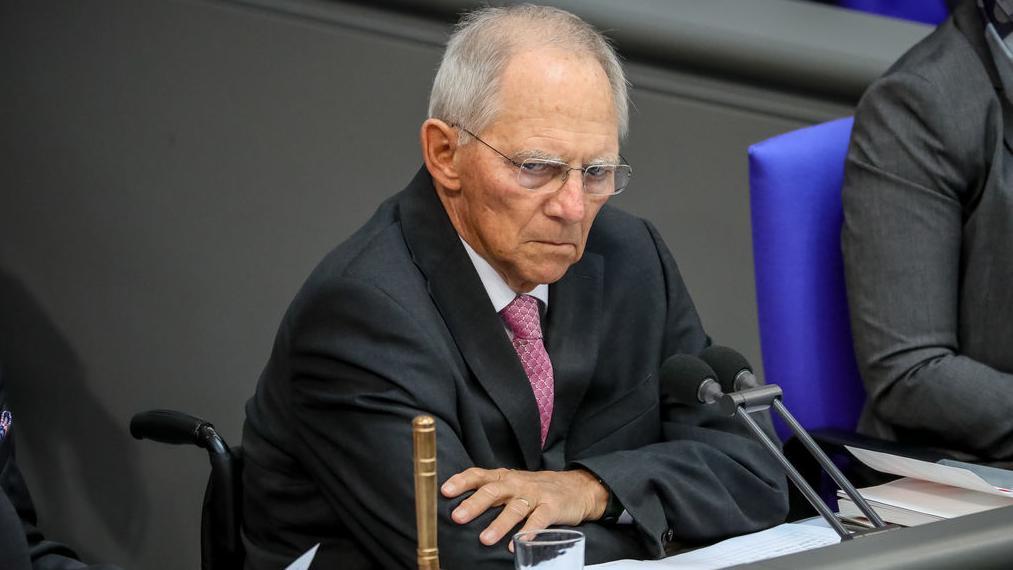 Archivbild: Bundestagspräsident Wolfgang Schäuble (CDU)