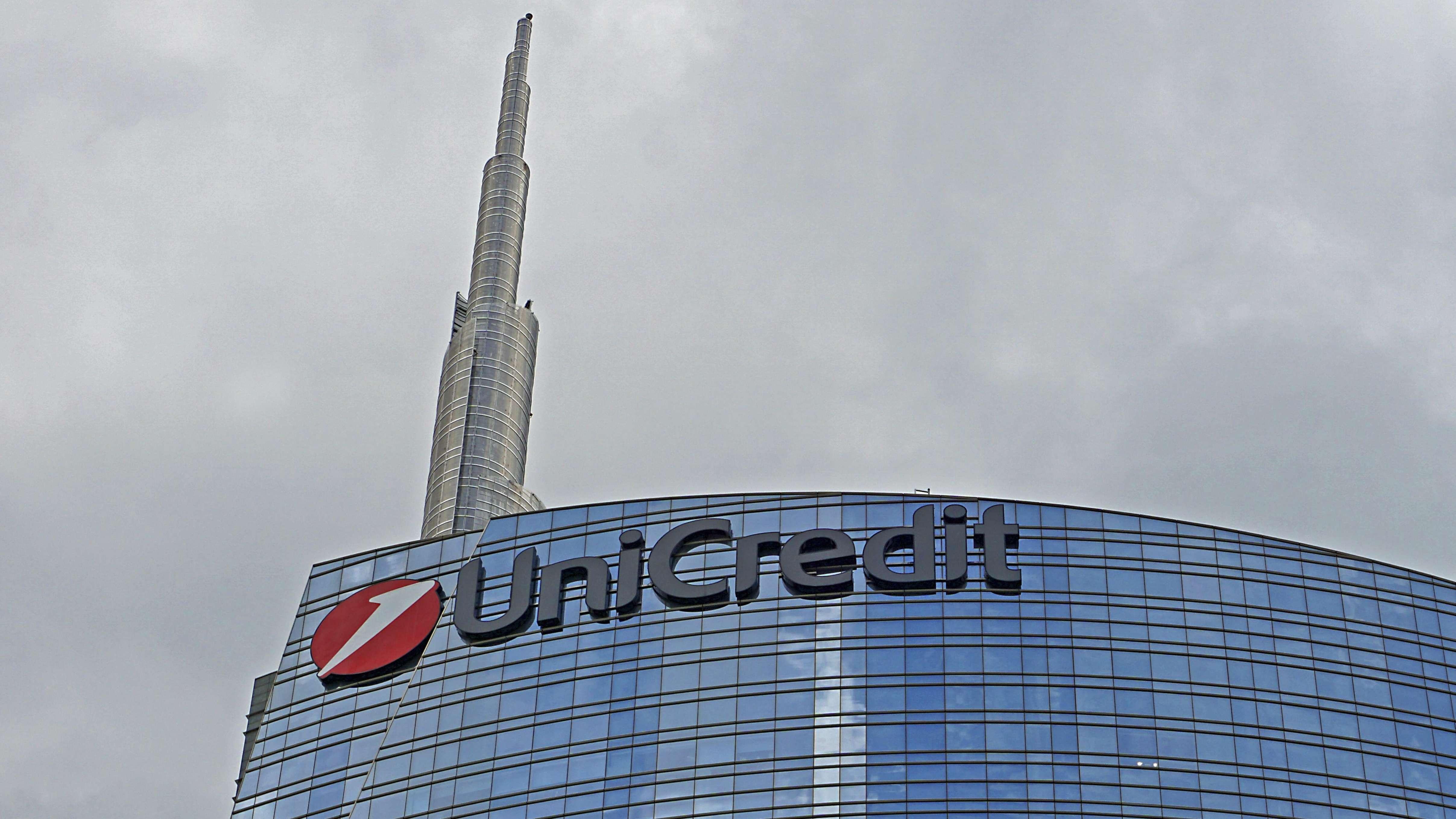 Das Hochhaus Torre Unicredit in Mailand