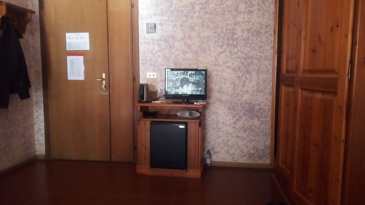 Das Quarantäne-Zimmer von André G. in der Südtiroler Biasi-Kaserne.