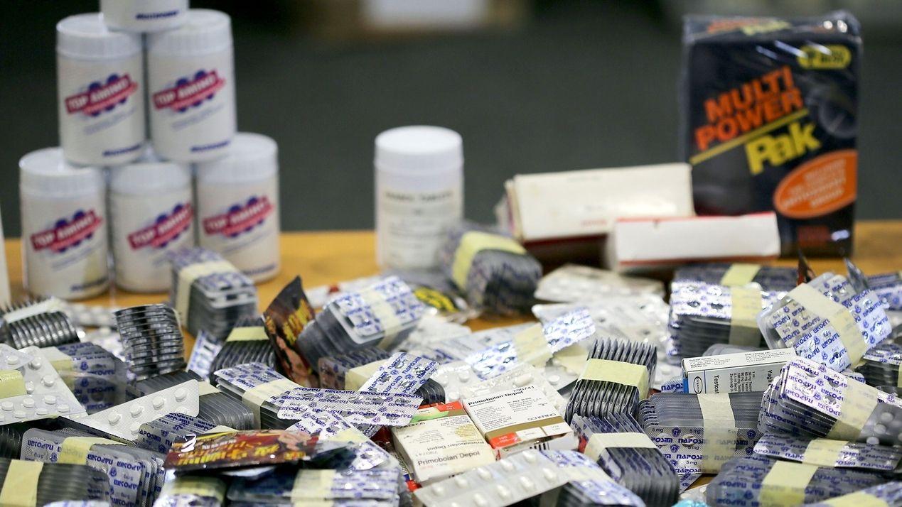 Gefälschte Medikamente und Nahrungsergänzungsmittel