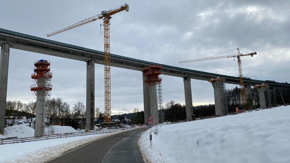 Brücke Unterrieden, Erneuerungsarbeiten