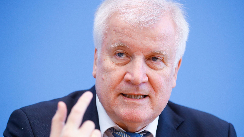 Horst Seehofer in Nahaufnahme