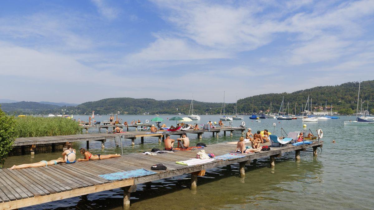 Strandbad von Maria Loretto am Wörthersee
