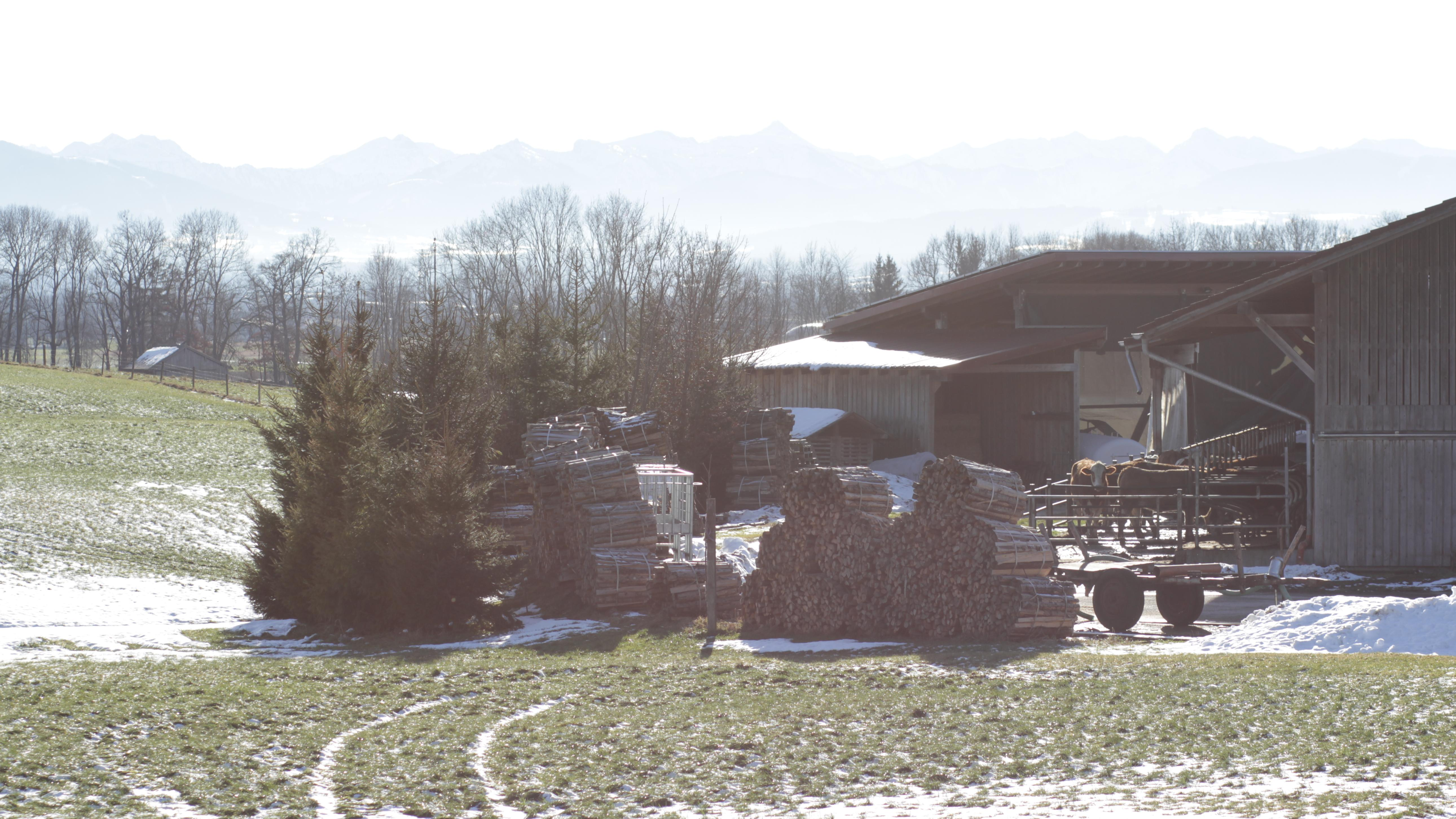 Der Bauernhof von Familie Popp in Pähl