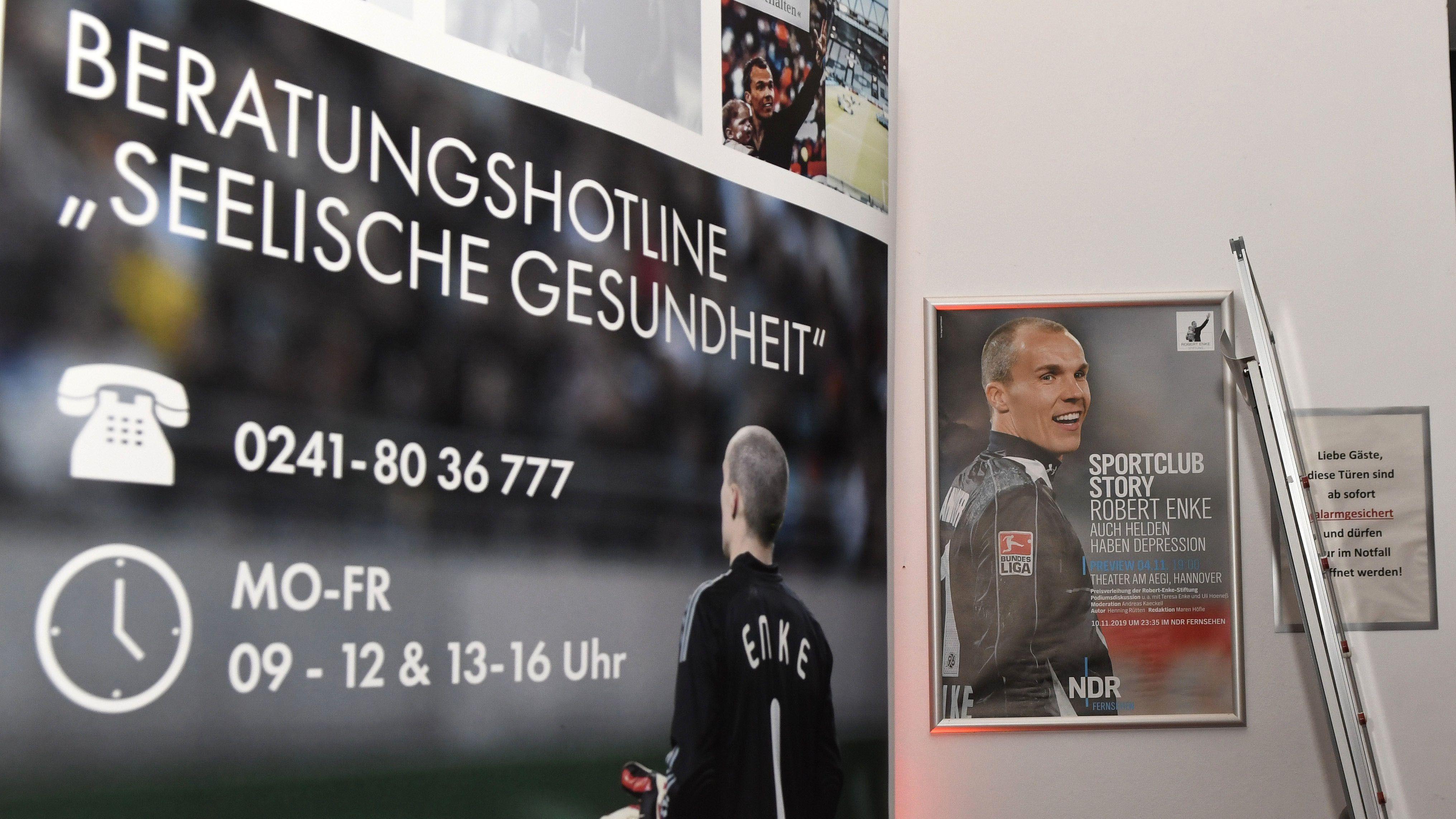 Plakat der Robert-Enke-Stiftung