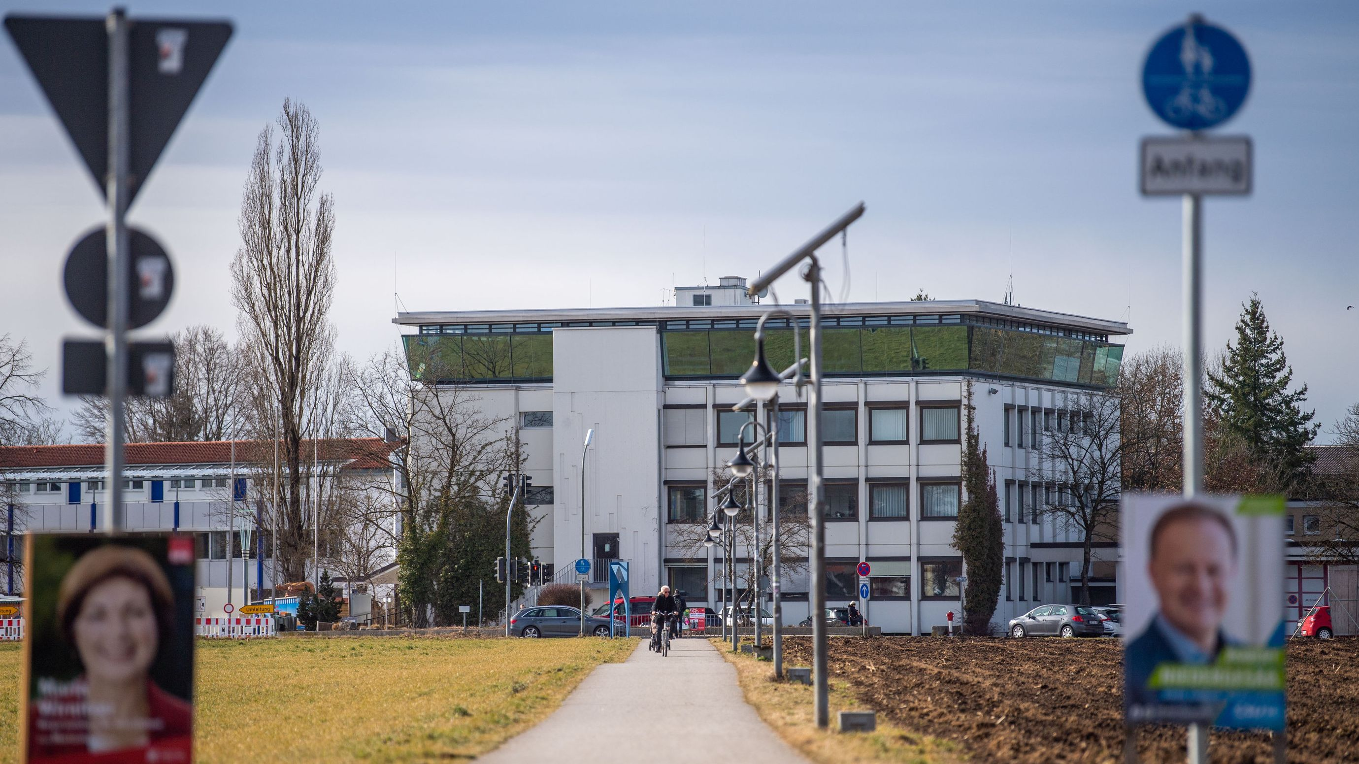 Das Rathaus von Vaterstetten
