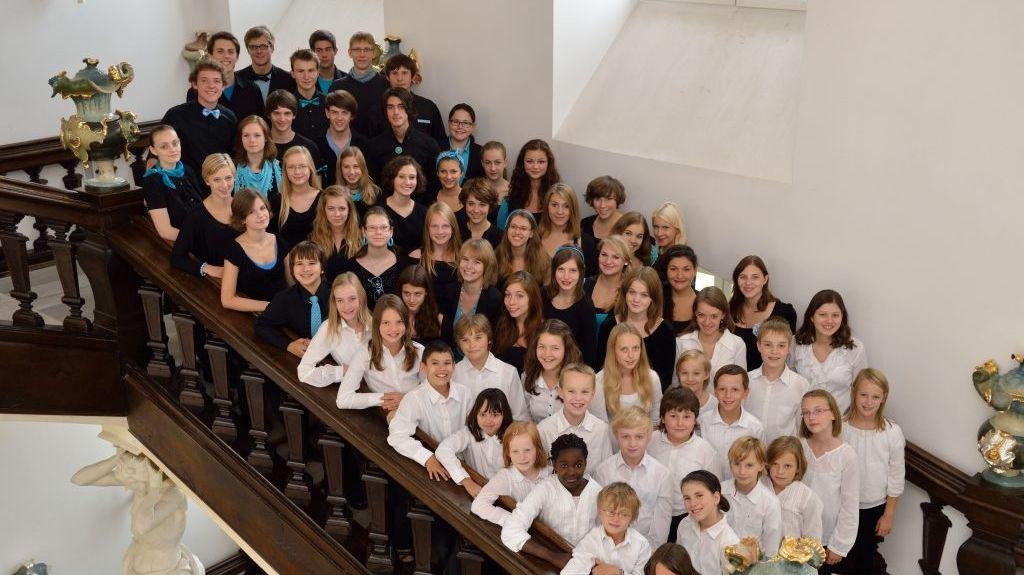 Kinder und Jugendliche singen im Jungen Chor Nürnberg