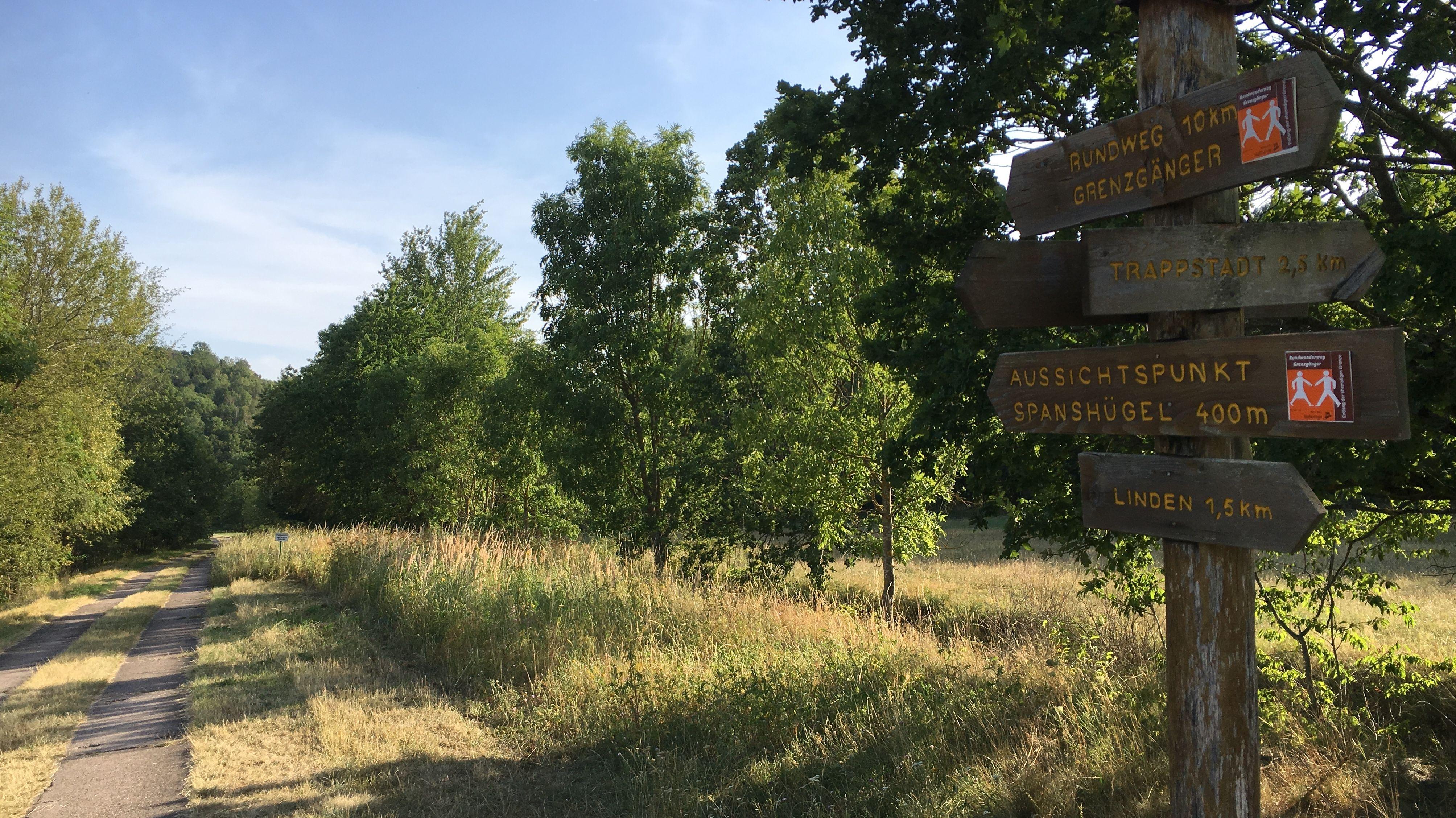 """Der Rundwanderweg """"Grenzgänger"""" bei Trappstadt"""