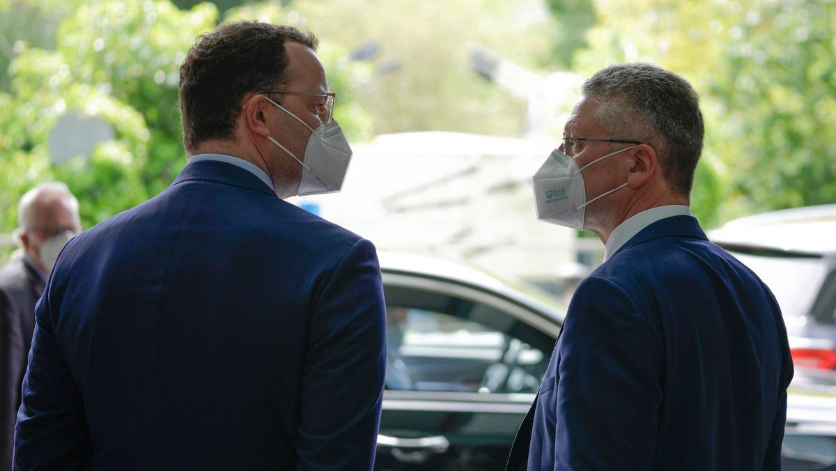 Jens Spahn und Lothar Wieler (Archivbild)