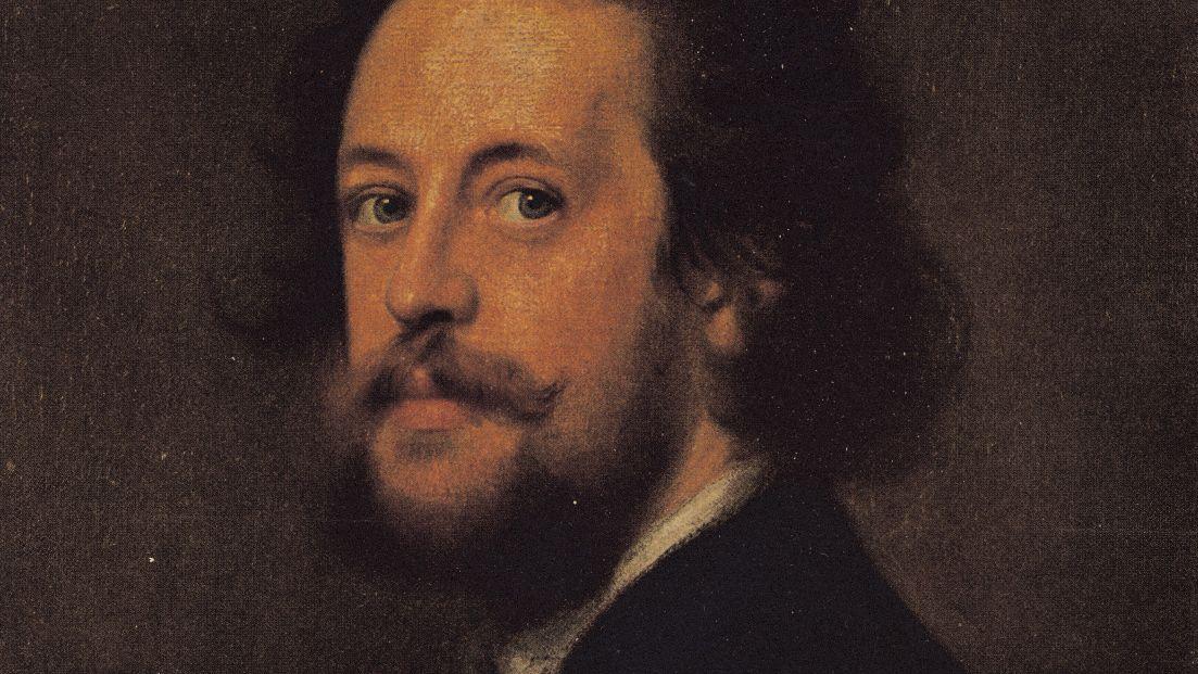 Einstmals als neuer Goethe gehandelt, heute fast vergessen: Paul Heyse (Porträt von Franz von Lenbach)