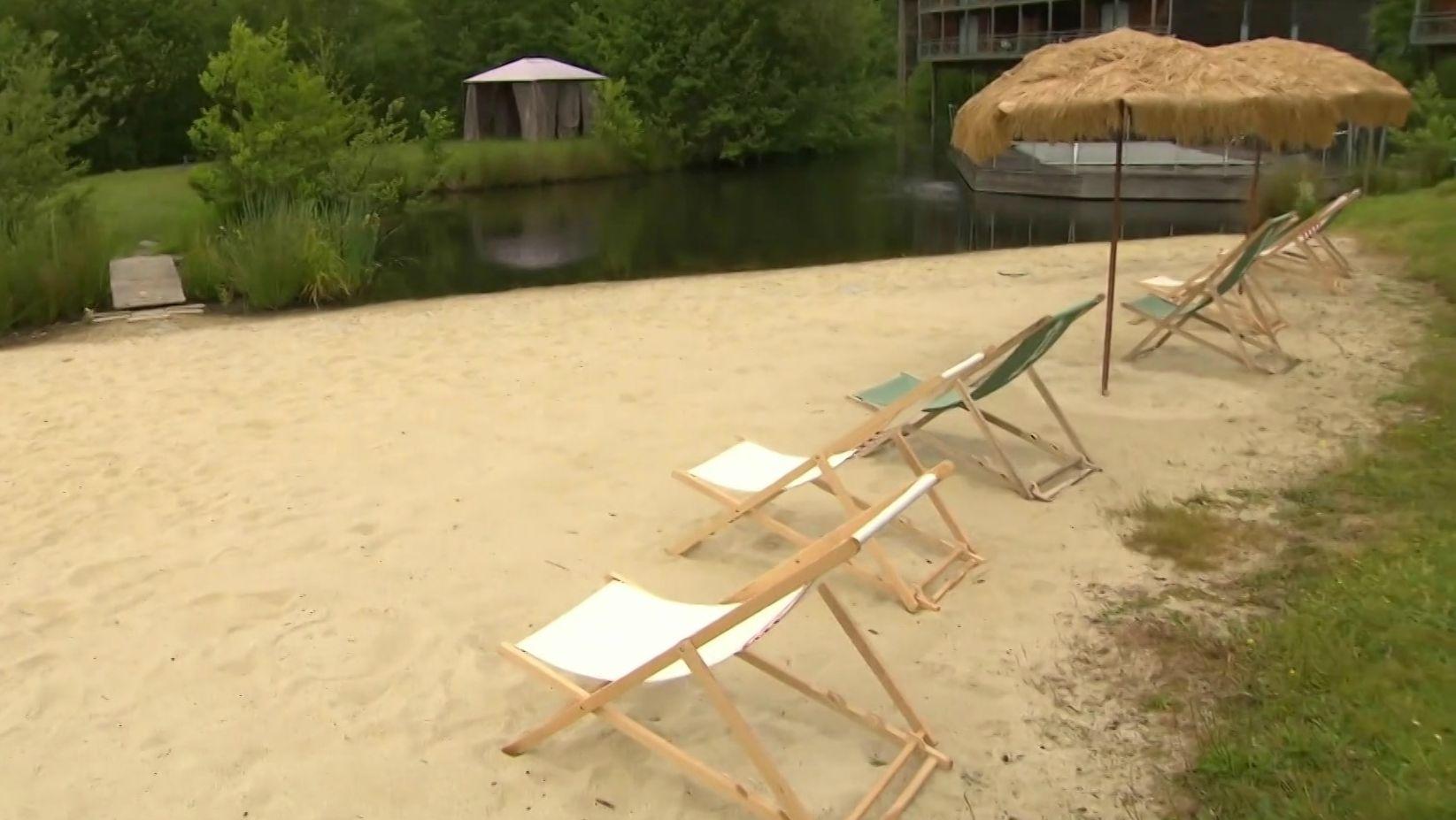Strand im WM-Quartier der DFB-Frauen