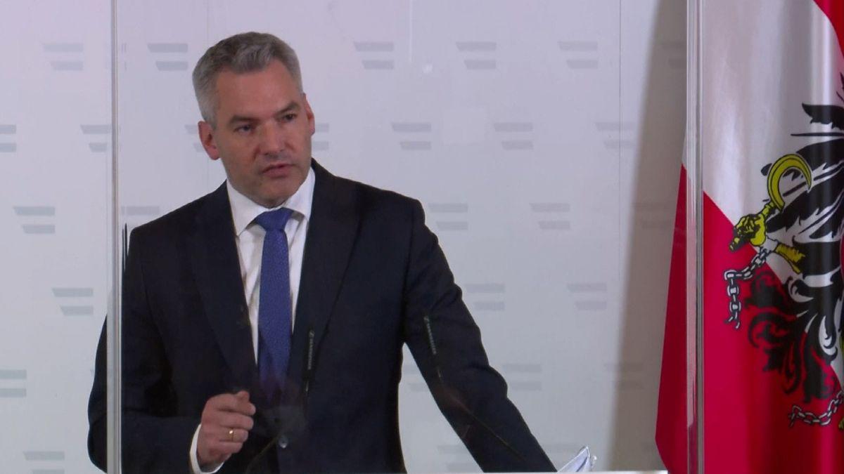 Österreichs Innenminister Karl Nehammer (ÖVP).