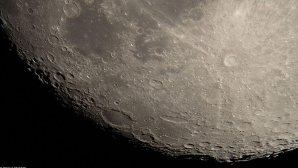 Südpol des Mondes.
