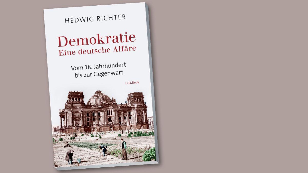 """Buchcover Hedwig Richter: """"Demokratie. Eine deutsche Affäre"""""""