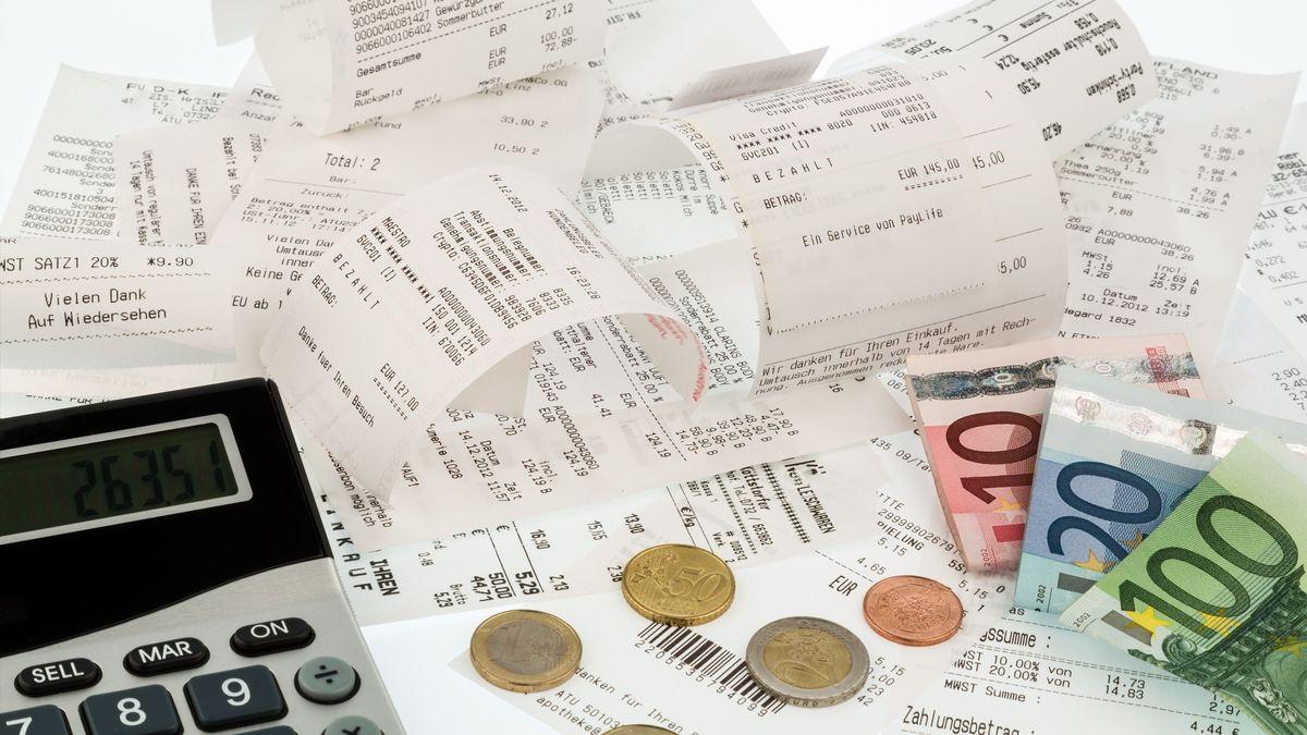 Rechnungsquittungen (Symbolbild)