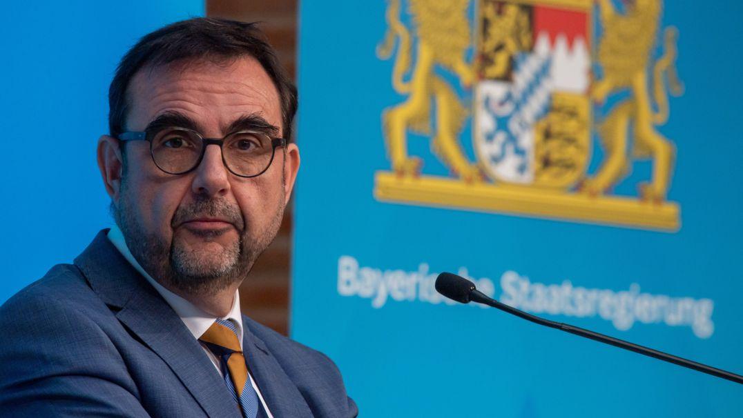 Bayerns Gesundheitsminister Holetschek (CSU)