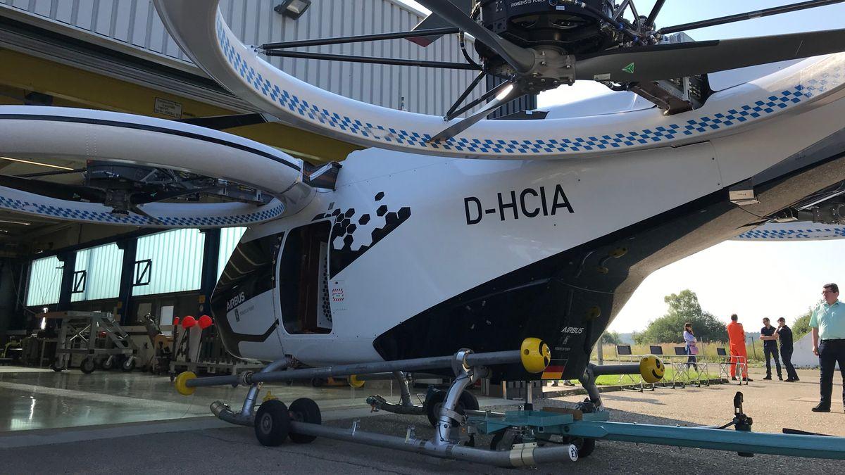 """Der """"CityAirbus"""" wird im schwäbischen Donauwörth entwickelt. In die Luft geht er in Manching."""