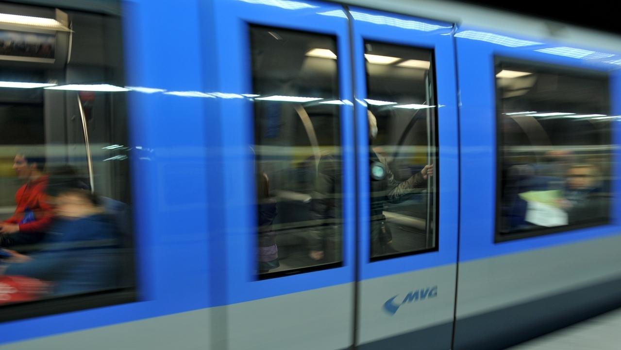 U-Bahn in München.