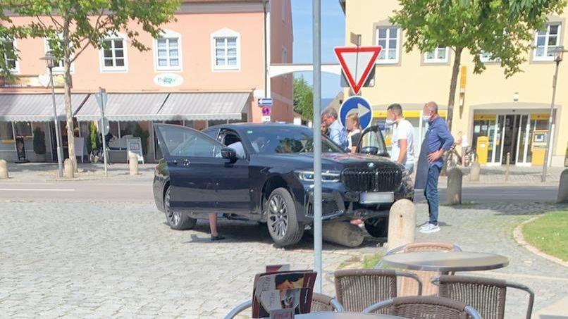 Der bayerische Wissenschaftsminister Bernd Sibler hatte in Plattling einen Unfall