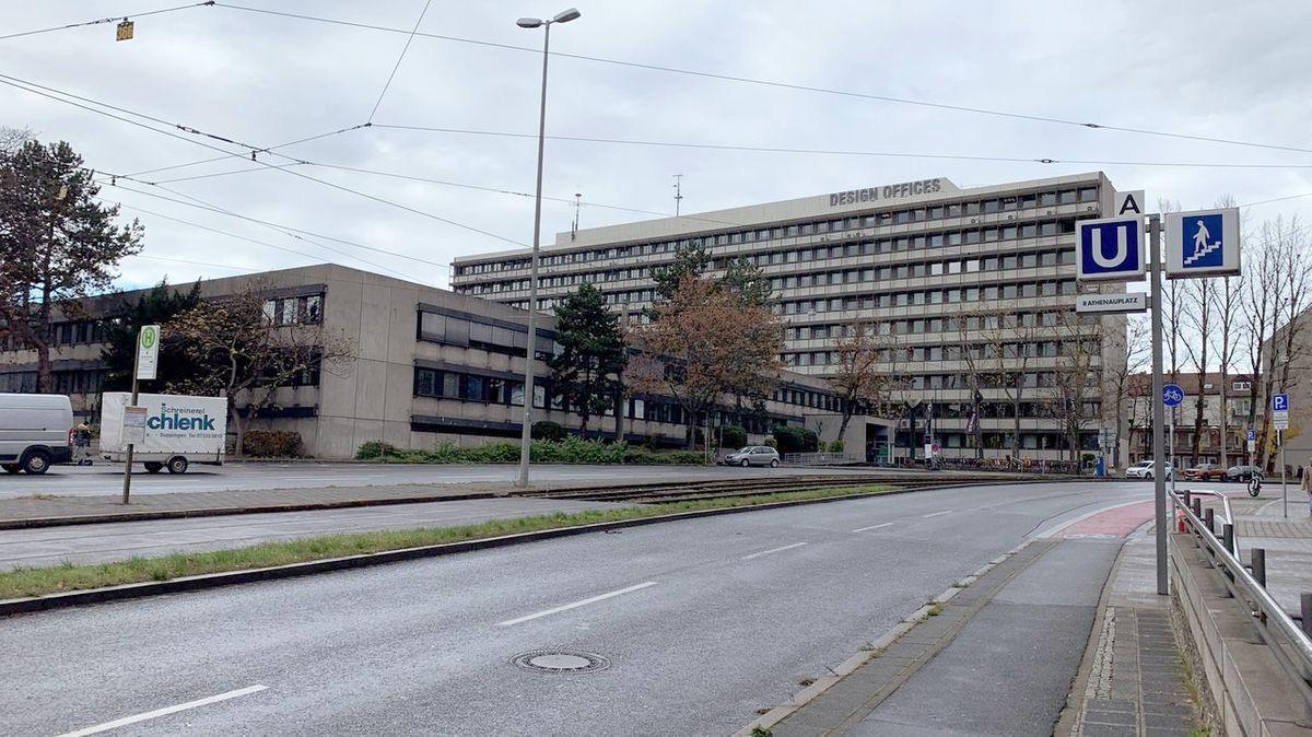 Ehemaliges Telekom-Gebäude in Nürnberg