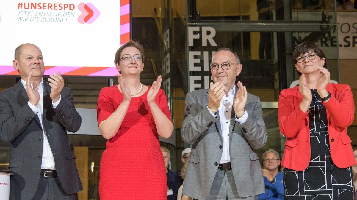 Ergebnis des SPD-Mitgliedervotums wird verkündet
