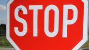 Stoppschild   Bild:BR/Georg Barth