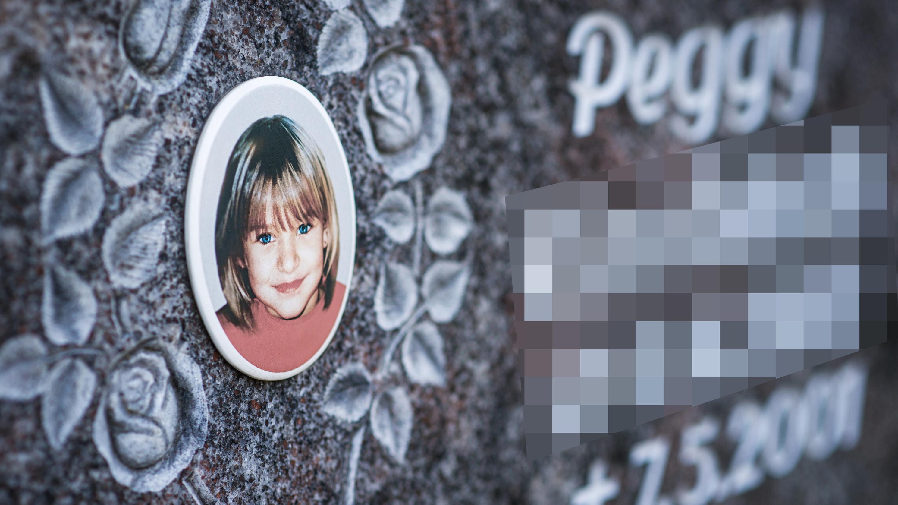 Der Grabstein von Peggy