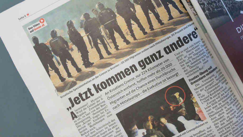 Kronen Zeitung vom 4. November 2018, S. 6