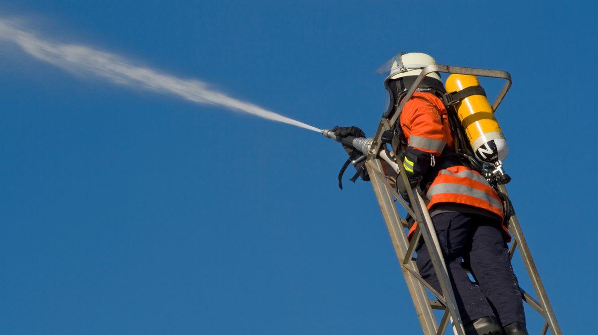 Feuerwehrübung (Symbolfoto).