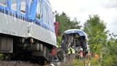 Zugunfall in Tschechien 4.8.2021   Bild:dpa Chaloupka Miroslav