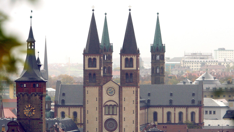 Der Dom in Würzburg
