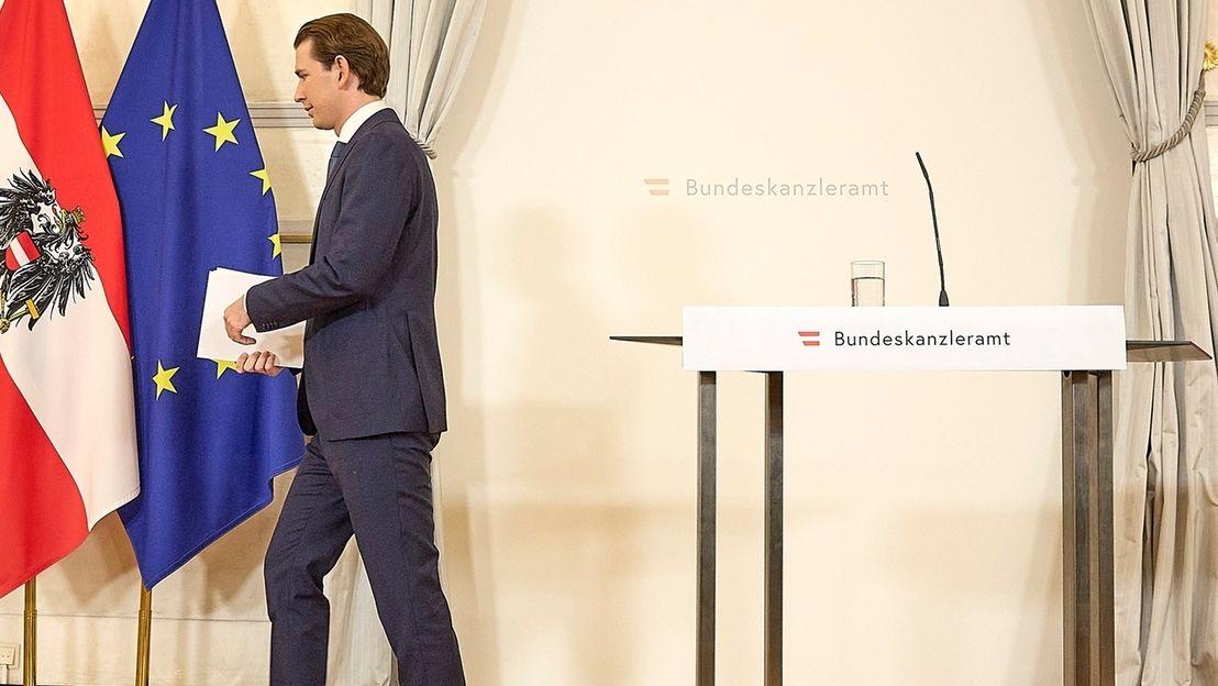 Der österreichische Kanzler Sebastian Kurz