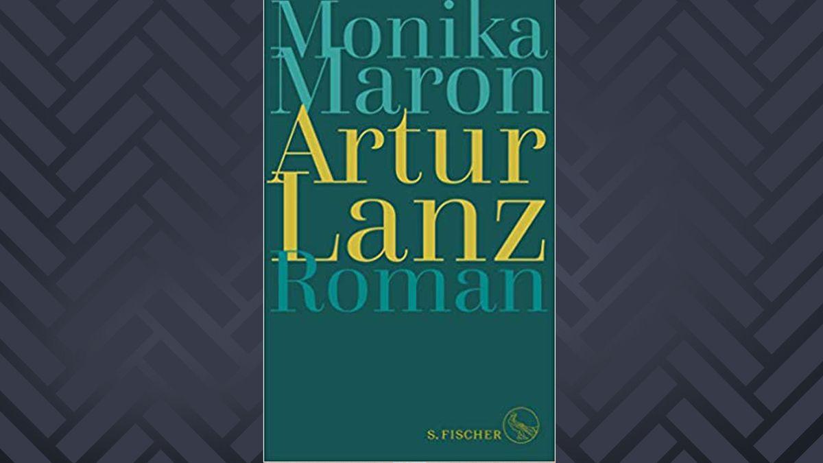 Cover eines Buches aus dem Fischerverlag: Auf grünem Hintergrund steht mit gelber Schrift der Titel Artur Lanz