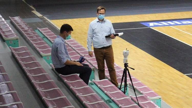 Medi Bayreuth lässt die Oberfrankenhalle untersuchen.