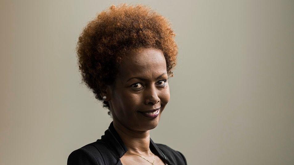 Die eritreische Schriftstellerin und Journalistin Yirgalem Fisseha Mebrahtu