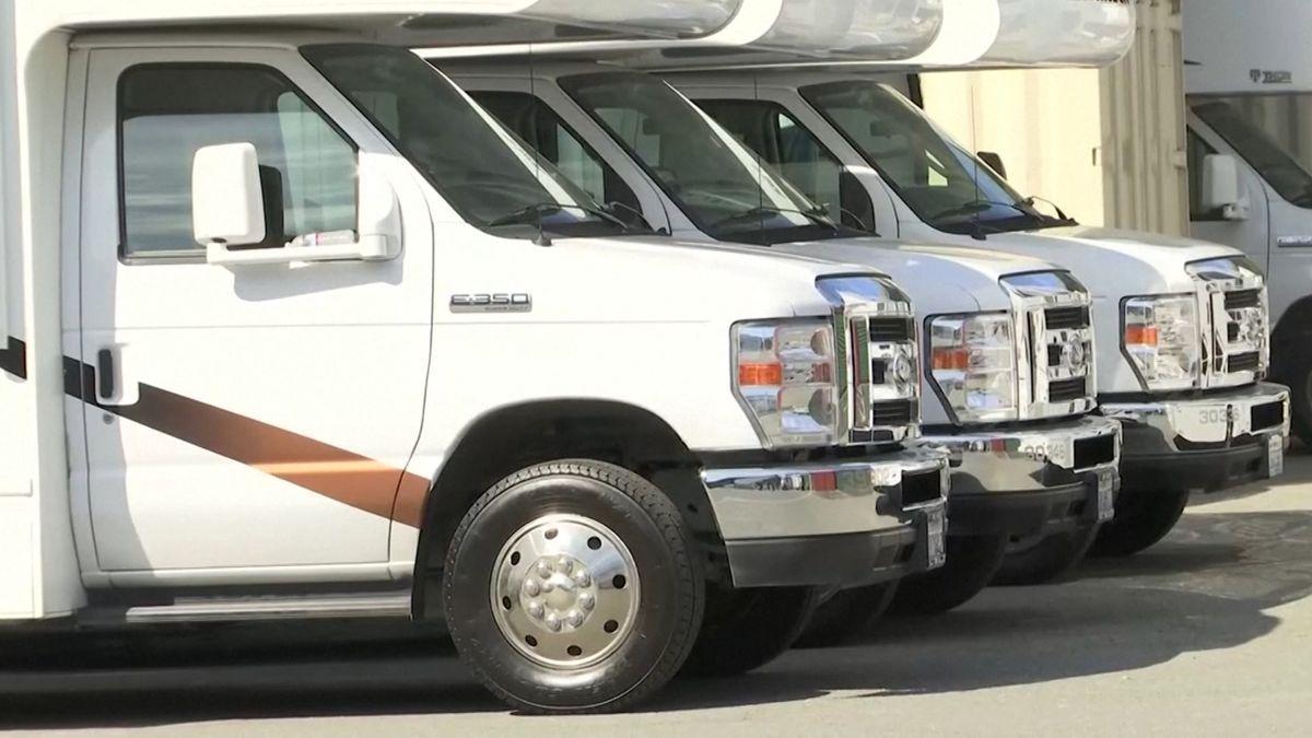 San Francisco mietet Wohnmobile für Corona-Quarantäne