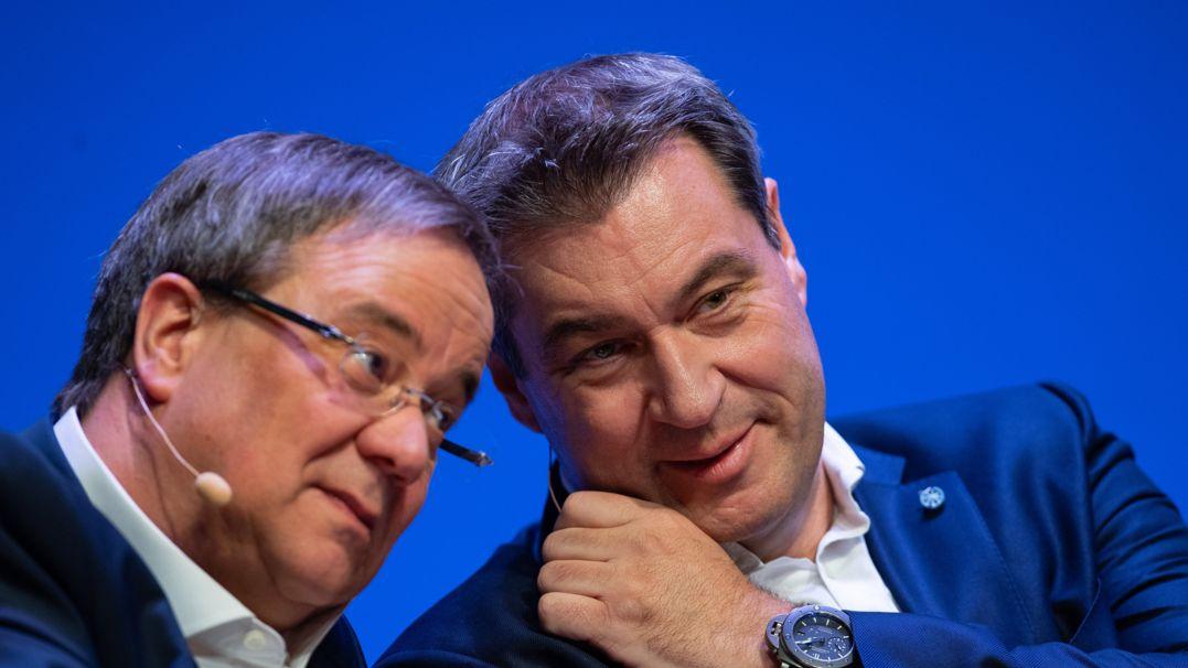 Kanzlerkandidatur: Laschet oder Söder?