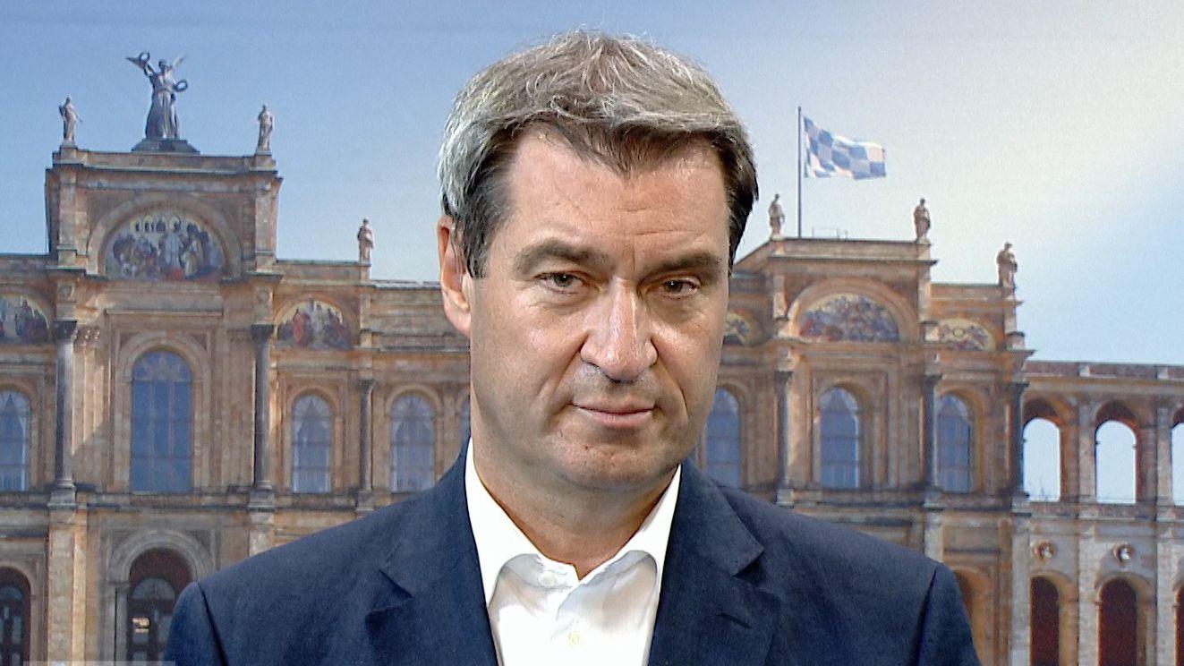 Ministerpräsident Markus Söder über die Entscheidung gegen Manfred Weber