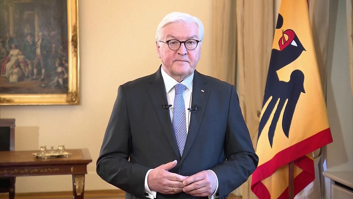 Fernsehansprache Bundespräsident Steinmeier.