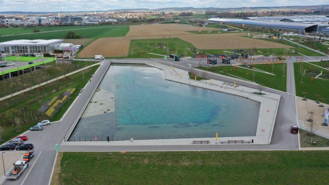 Die Landesgartenschau in Ingolstadt eröffnet offiziell
