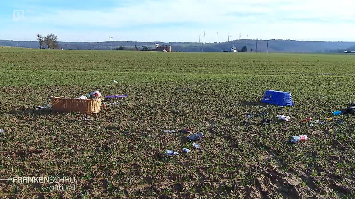 Landwirt wehrt sich gegen illegale Müllentsorgung
