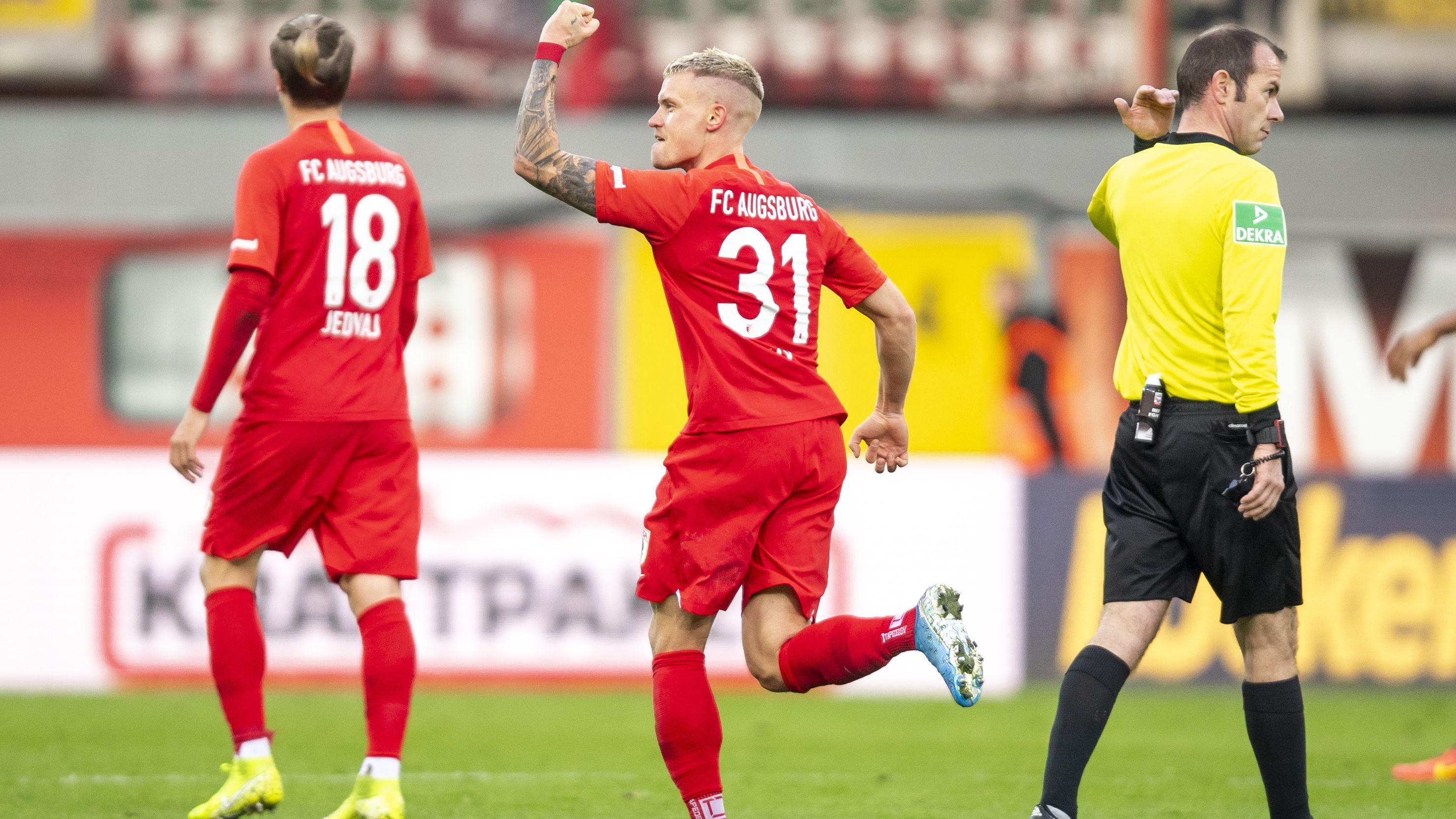 Philipp Max trifft zum 0:1