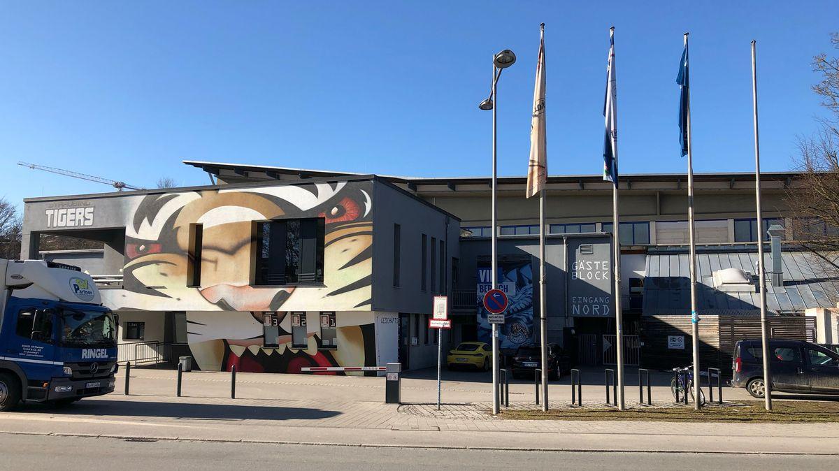 Stadion der Straubing Tigers